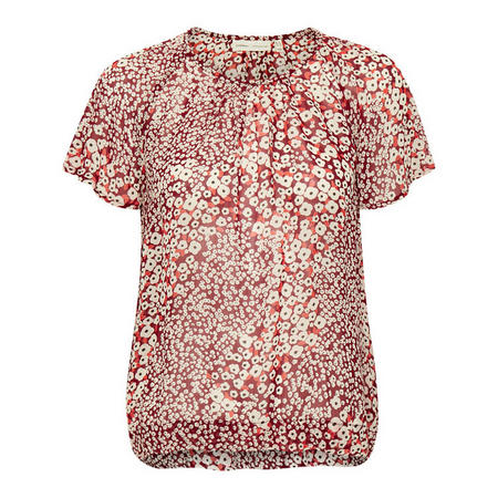 Tally Ditsy Print Top