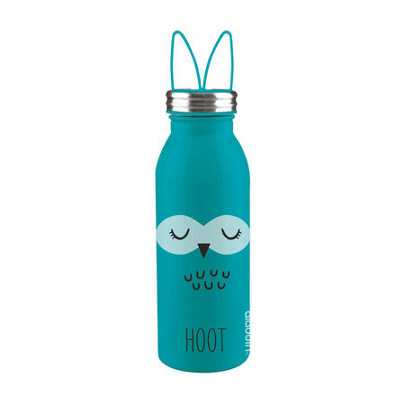 Zoo Vacuum Insulated Water Bottle 0.43L Owl