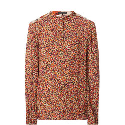 Floral Panelled Blouse
