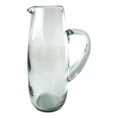 Recycled Glass Pitcher 26cm