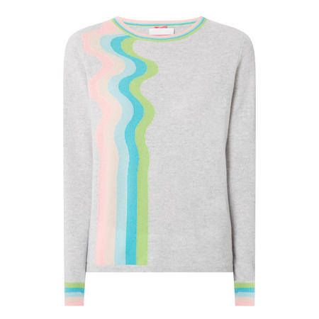 Wavy Cashmere Sweater