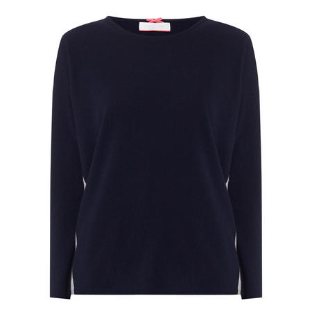Side Panel Cashmere Sweater