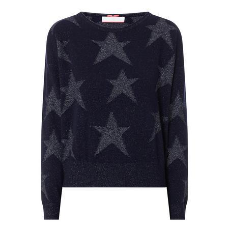 Crew Neck Star Sweater