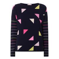 Triangle Cashmere Sweater