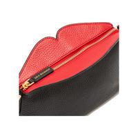 Cleo Peekaboo Lip Crossbody Bag