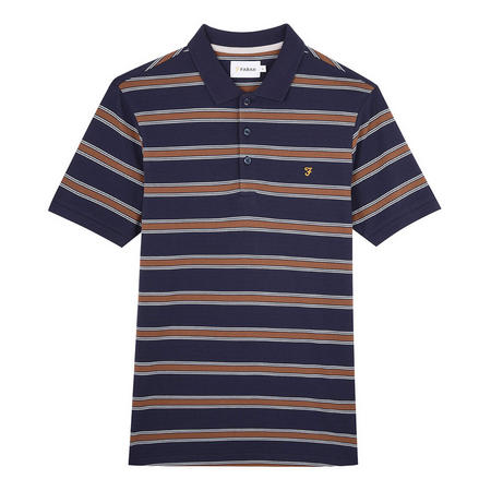 Sefton Stripe Polo Shirt