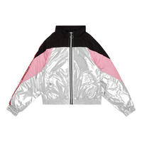 Girls Colour Block Jacket