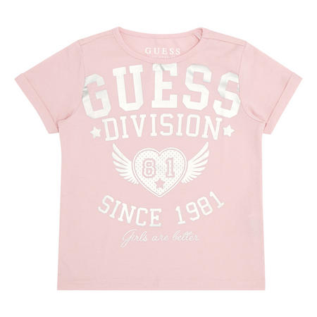 Girls Logo Shimmer T-Shirt