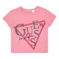 Girls Cropped Logo T-Shirt