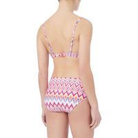 Crepus Print Bikini Top