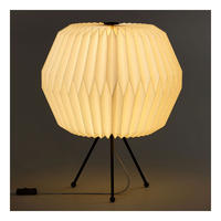 Paper Shade Table Lamp, Phoenix, UK Plug