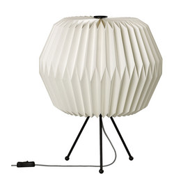 Paper Shade Table Lamp, Phoenix, UK Plug