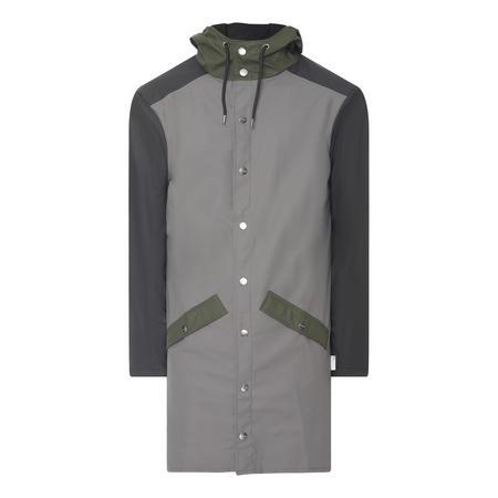 Long Colour Block Coat
