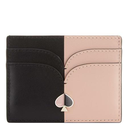 Nicola Bi-Colour Card Holder