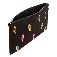 Beaded Flock Tablet Pouch