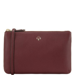Polly Double-Zip Medium Crossbody Bag