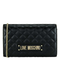 Quilted Logo Clutch