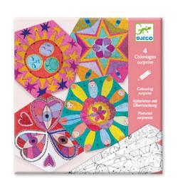 Colouring Surprise Constellation Mandalas