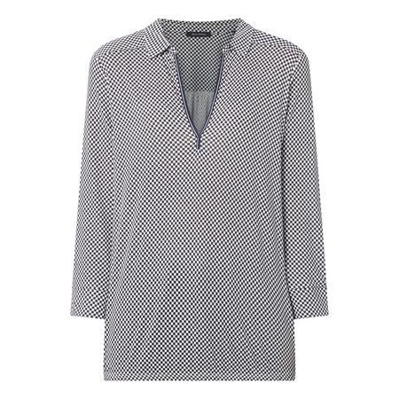 Cross Pattern Long Sleeve T-Shirt