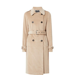 Corded Trench Coat