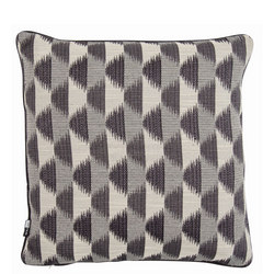 Jagged Edge Cushion 43 x 43cm
