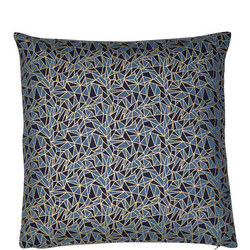 Geo Print Cushion Navy 45 x 45cm