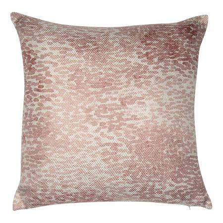 Pattern Print Cushion Pink 45 x 45cm