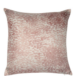 Pattern Print Cushion Pink 45 x 45cm
