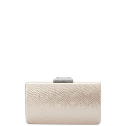 Giselle Croc Embossed Clutch