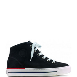 High Top Lace-Up Trainers