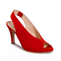 Peeptoe Slingback Sandals