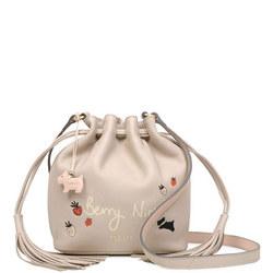 Berry Nice Drawstring Bucket Bag