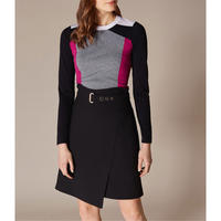 Sporty Panelled Jumper