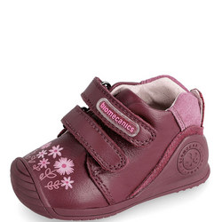 Double Velcro Flower Trainers