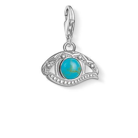 Eye Of Horus Charm Silver