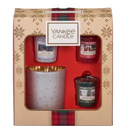 Votive and Holder Gift Set