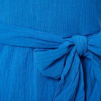 Ruffle Wrap Midi Dress