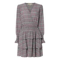 Plaid Frilled Dress