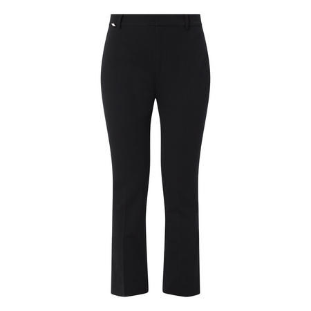 Stretch Twill Flared Trousers