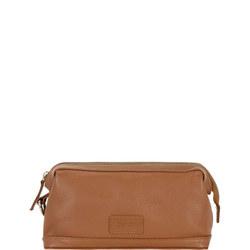 Beauley Leather Wash Bag