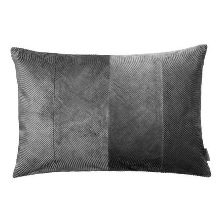 Corduroy Cushion Steel 40 x 60cm