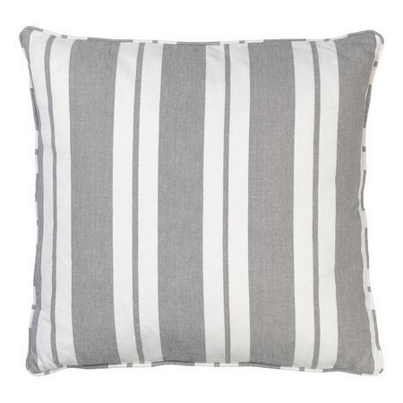 Nordic Stripe Cushion Mud 50 x 50cm
