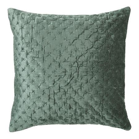 Velvet Embroidery Cushion Kale