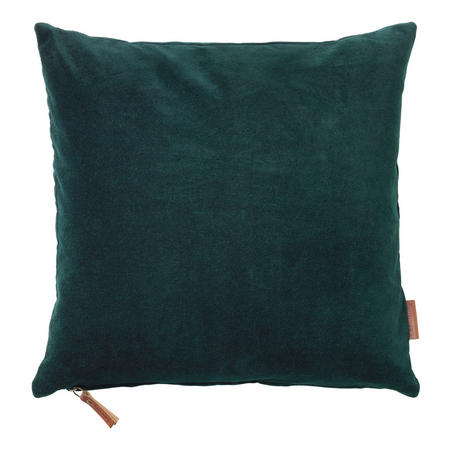 Velvet Soft Cushion Deep Forest 50 x 50cm