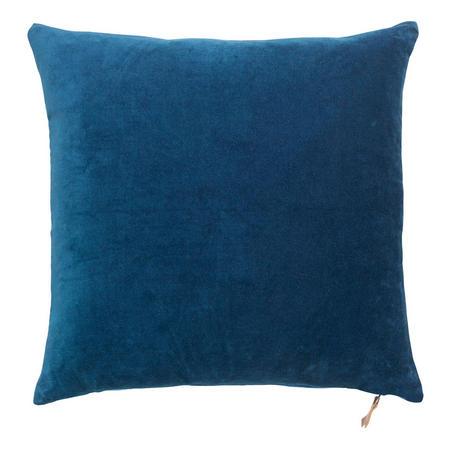Velvet Soft Cushion Major Blue 50 x 50cm