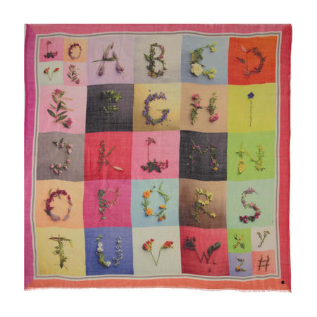 ABC Boxed Wool Scarf