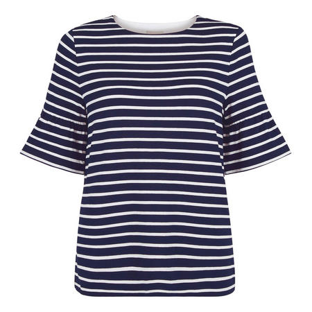 Gee Fluted Sleeve Top