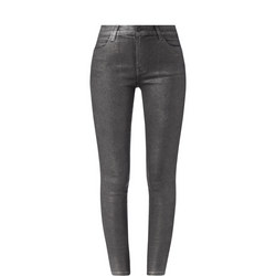Maria Metallic Skinny Jeans