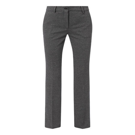 Houndstooth Jersey Trousers