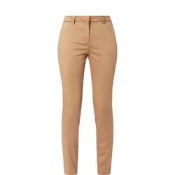 Slim Satin Trousers